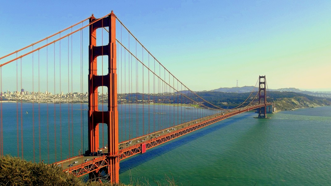 The Golden Gate!
