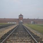 Birkenau gate of death