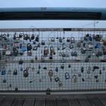 The padlocks
