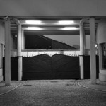 Salvation awaits; the gates to Schindler's factory