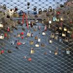 Lovers padlocks