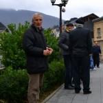 Bosnian muslims gather