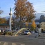 One of the river Miljacka's many bridges.