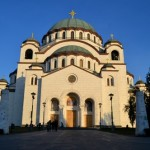 St Sava Cathedral.  The largest Orthodox temple in the world