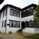 Traditional wealthy Albanian abode.