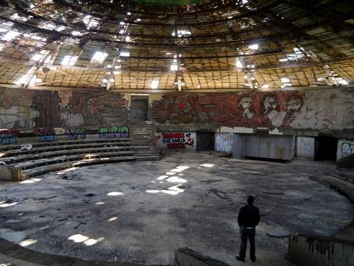 The stunning main chamber