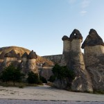The fairy chimneys