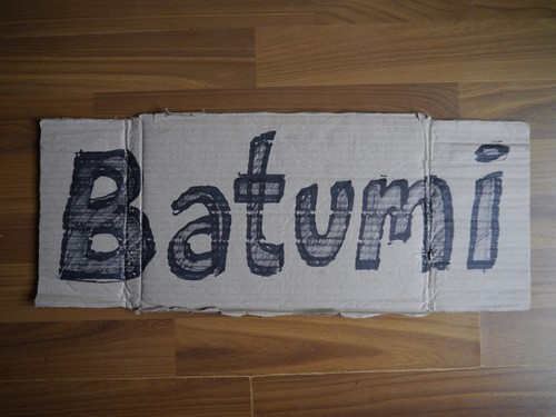 Batumi.  Obviously