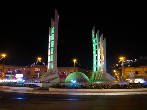 Zanjan by night