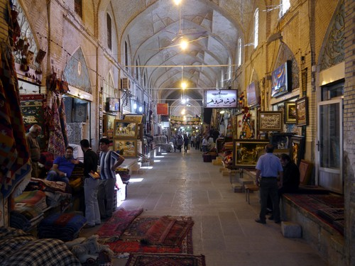 One of the many bazaars
