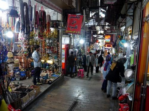 The Tajrish Bazaar