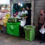 Fresh herbs everywhere - the smell was incredible