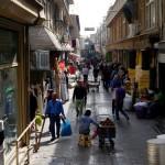 Bazaar streets