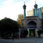 Mosque near Golestan palace