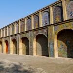 The Golestan palace grounds
