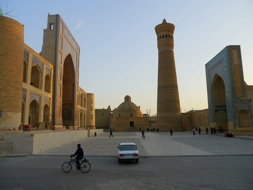 Beautiful Bukhara and the tower of death