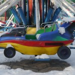 More from the snowy fairground