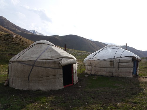 Yurt life.  Home for a night