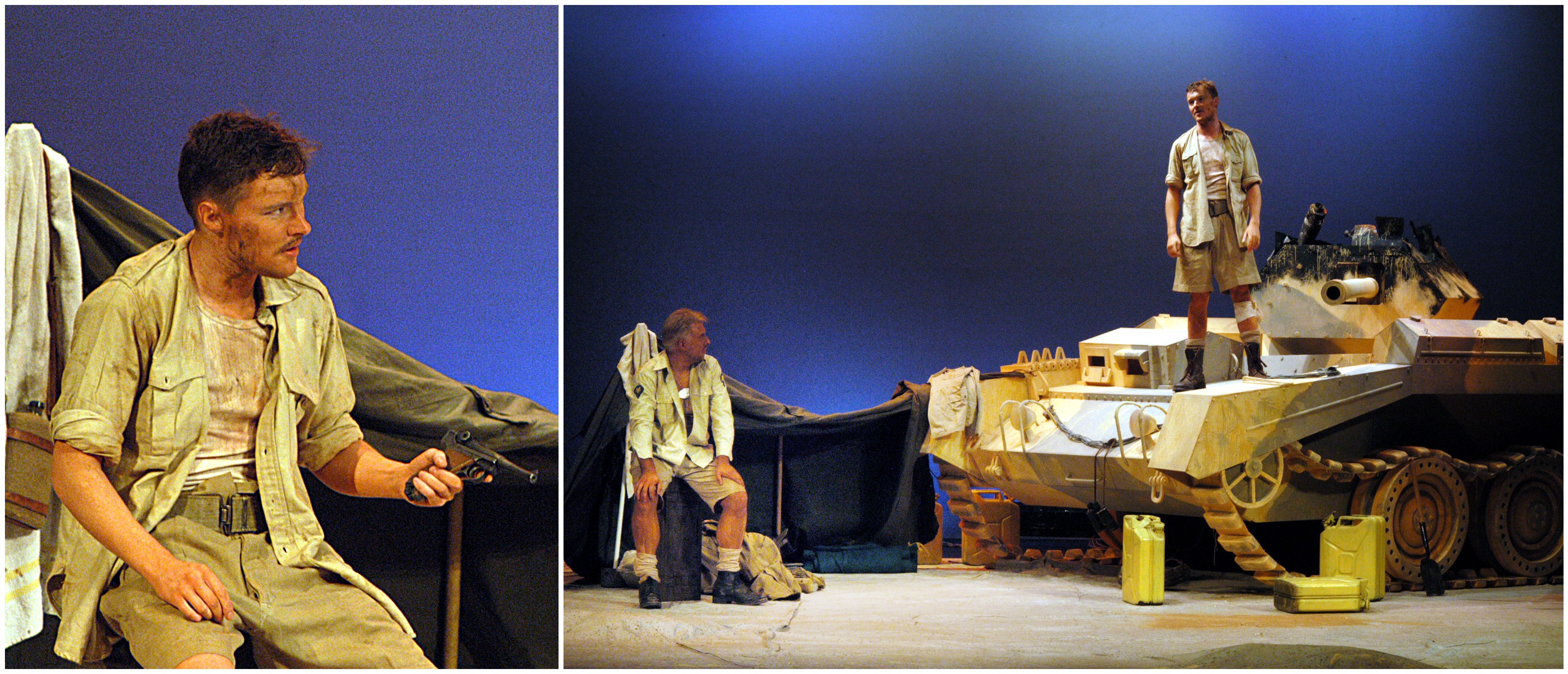 Probably my finest work.  Somerset Maugham's beautiful play -  Enemy.  Still out-acted by the tank