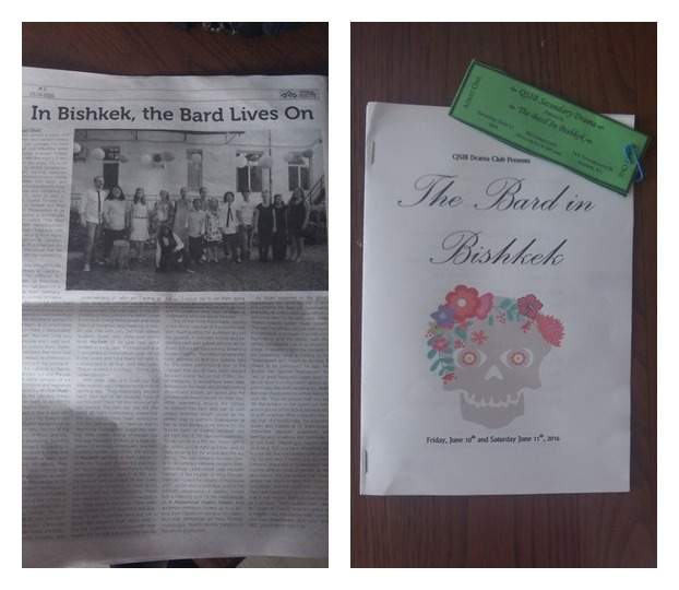 The newspaper article, program and ticket stubs