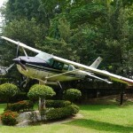 Cessna in the police museum grounds