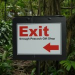 Exit through the gift shop - obviously