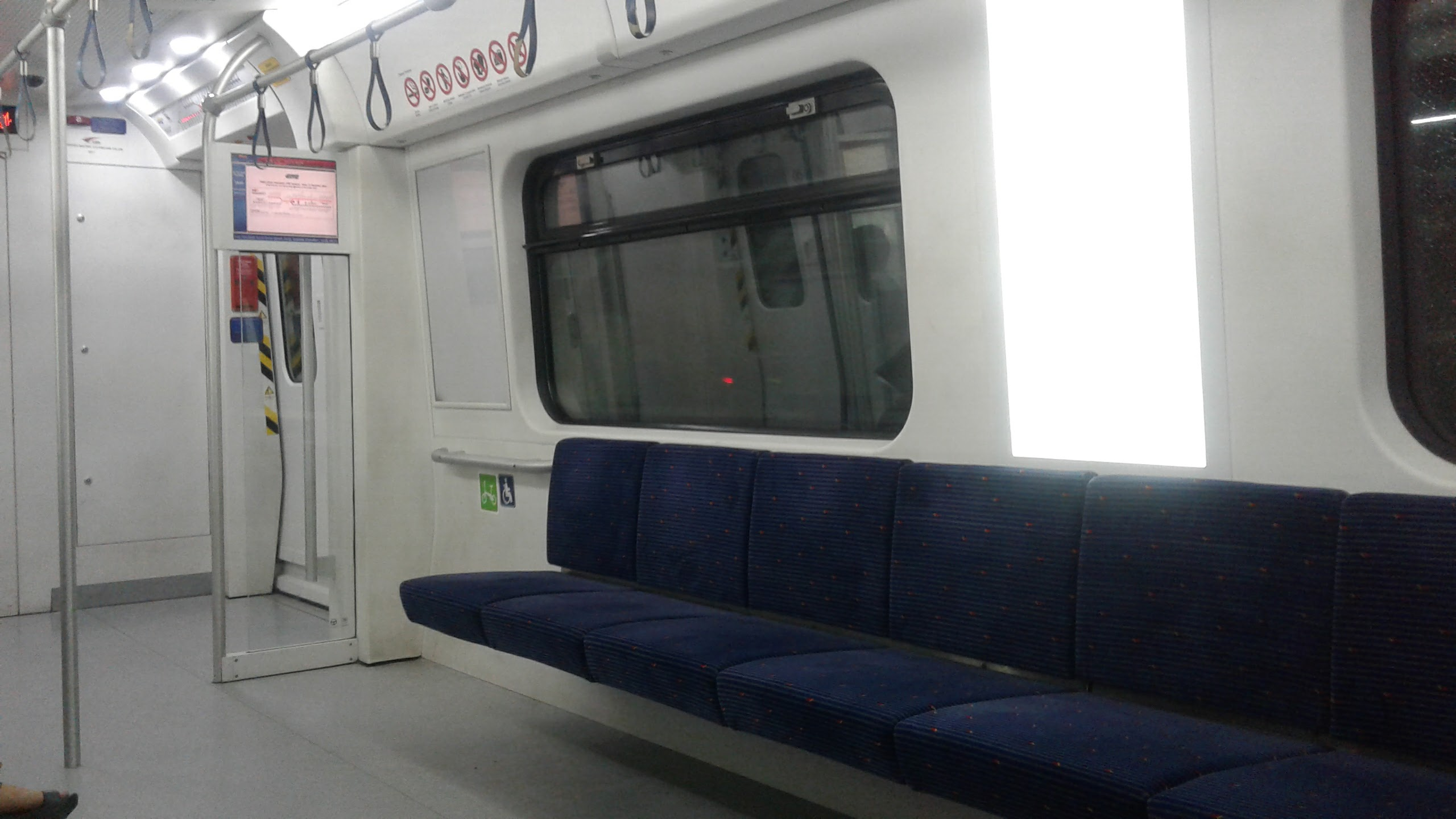 It's lonely going to the last stop.