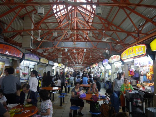 "One of hundreds of""hawker"" food courts.  Amazing food for less than the cost of a Big Mac."