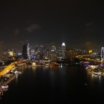 From bar Level 33 - Singapore skyline without paying $25 for it.