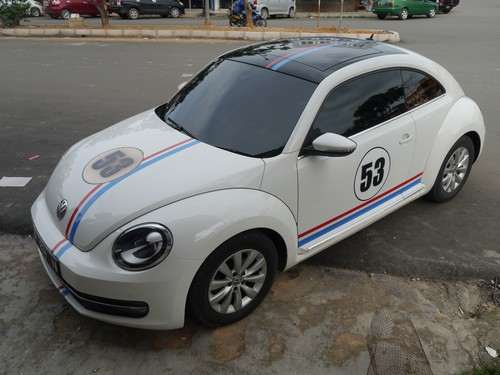 But I did see modern Herbie!