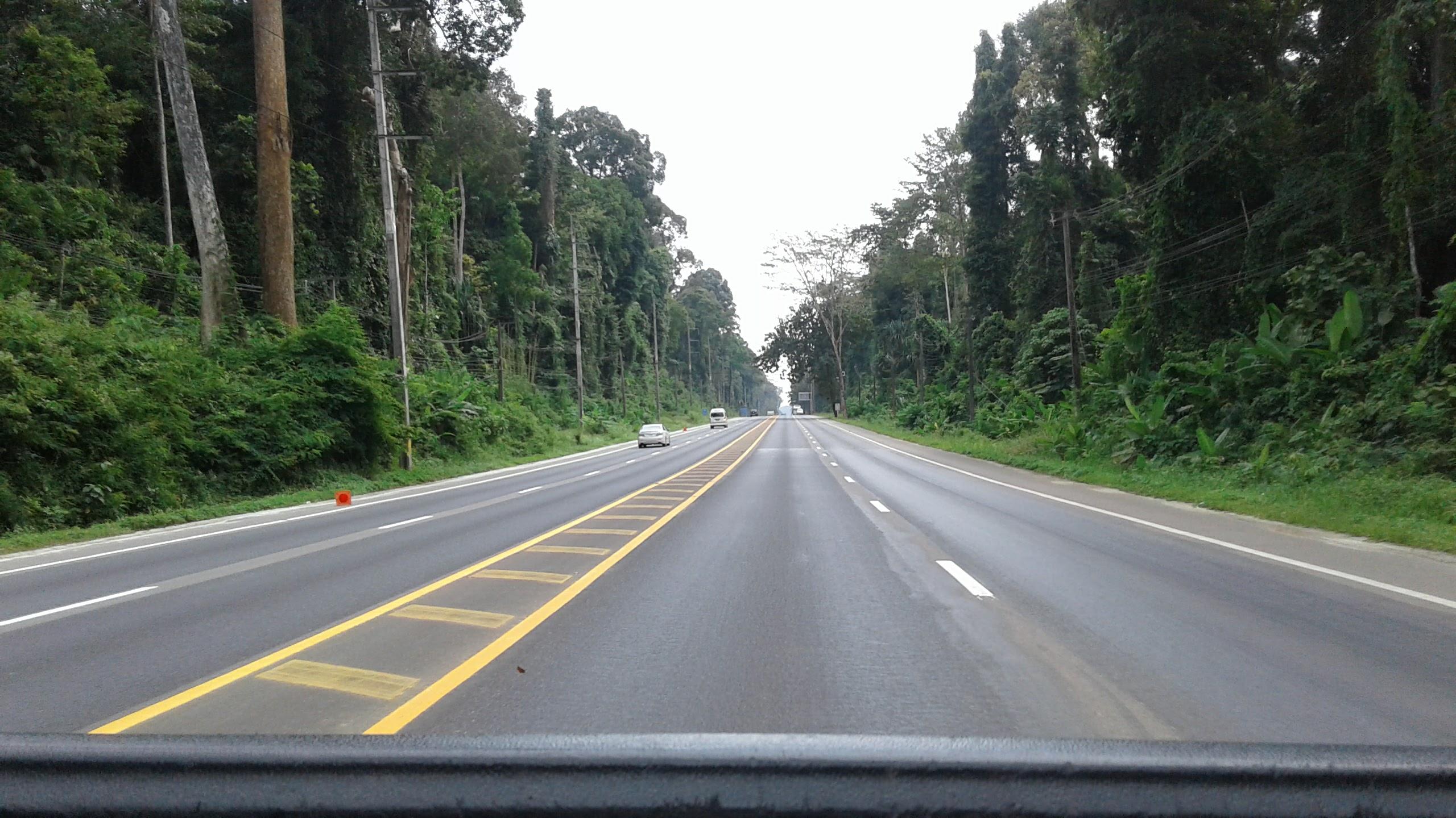 Thai roads are pretty damn decent.