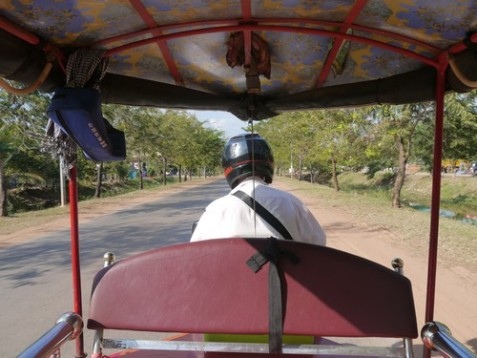 The last tuk tuk ride.