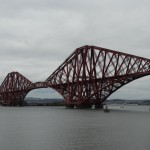 The Forth Rail Bridge.