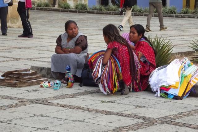 Mexican women enjoying a chat