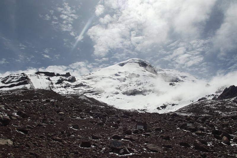 The closest point on earth to the moon - Chimborazo, Ecuador