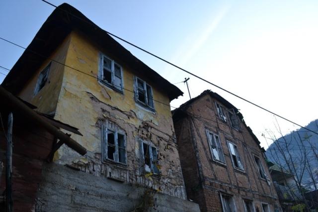 Houses outside of Sarajevo