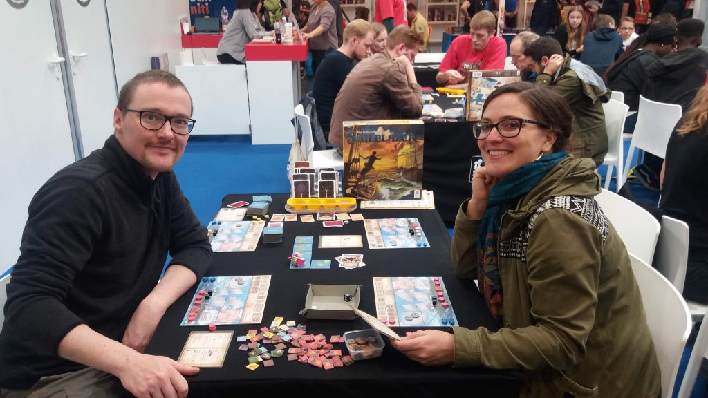 Board games at Spiel