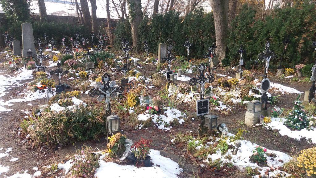 Suicide graveyard in Vienna