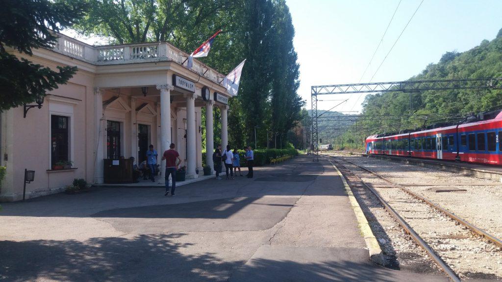 Train station Belgrade to Sofia